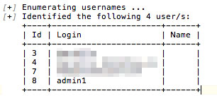 WordPress Security with WPScan: Username
